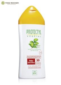 Protectyl Végétal Feuchtigkeitsspendende Sonnenschutz-Milch 3in1 LSF 30