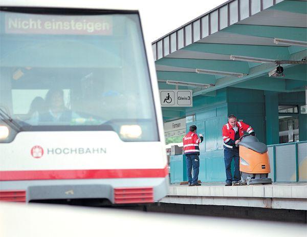 Barrierefreier Ausbau des U-Bahn-Knotenpunktes Wandsbek-Gartenstadt