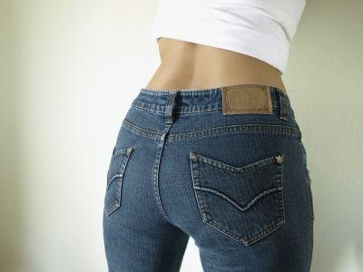 Ladies in der richtigen Jeans