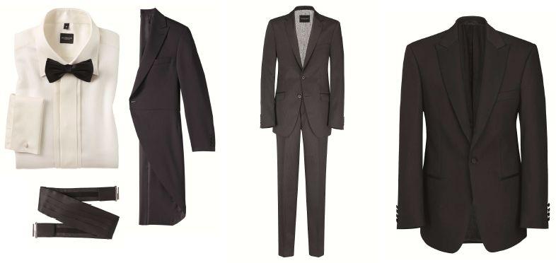 Masterhand: Besondere Garderobe für den Bräutigam