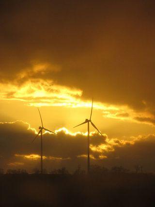 Bald Realität: Riesen-Windräder über Hamburg