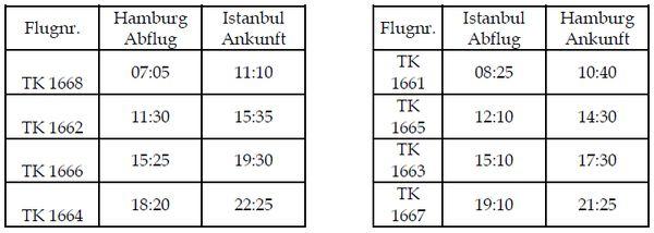 Turkish Airlines fliegt künftig vier Mal täglich Hamburg - Istanbul