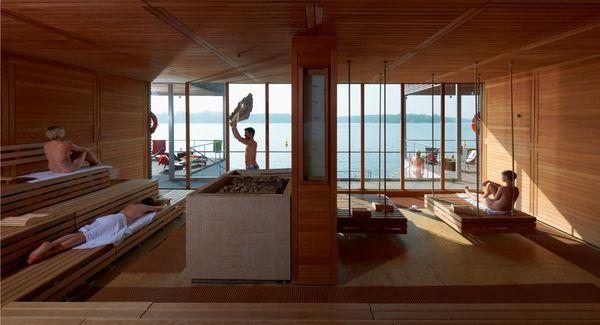 Seesauna im Resort Mark Brandenburg