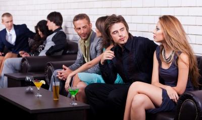 Begegnungen und Kommunikation auf Events