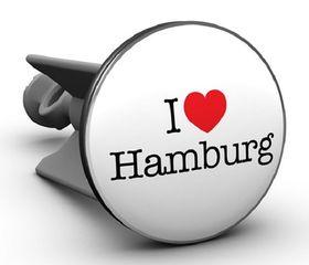 """""""I love Hamburg"""" Waschbeckenstöpsel"""