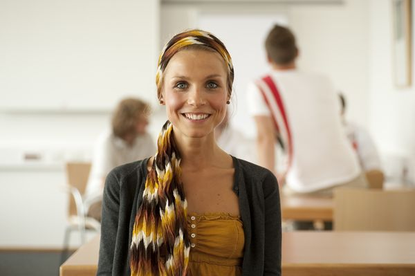 EMBA Studentin