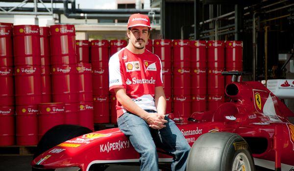 Fernando Alonso besuchte Shell in Hamburg