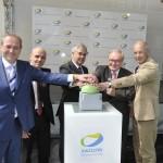 Reinhard Quante / Europcar, Thomas Beermann / car2go, Senator Frank Horch, Günter Elste / HOCHBAHN, Lutz Aigner / HVV