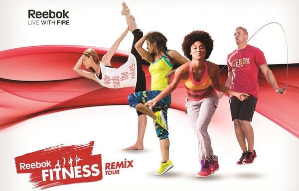 Reebok Fitness Remix Tour