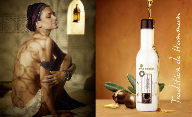 Yves Rocher: Tradition de Hammam Dusch-Milch
