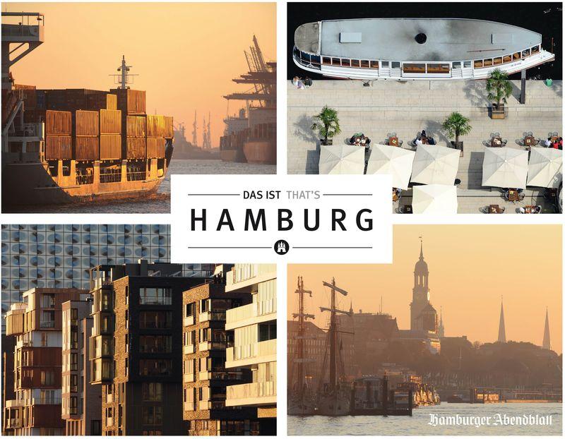 "Bildband: ""Das ist Hamburg - That's Hamburg"""