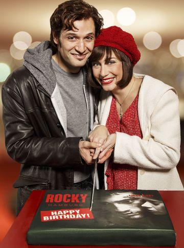 Rocky (Drew Sarich) und seine Adrian (Wietske van Tongeren)
