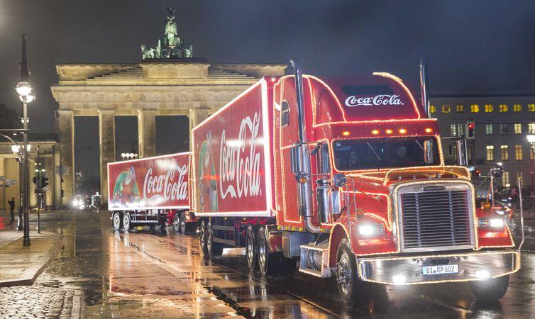 Die Coca-Cola Weihnachtstrucks sind wieder auf Tour