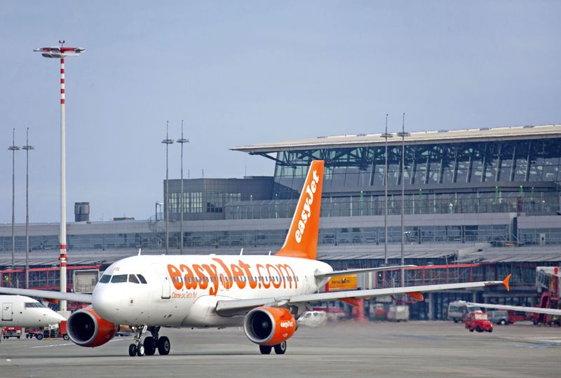 easyJet am Hamburg Airport