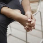 Fuß-Yoga - Zehen spreizen