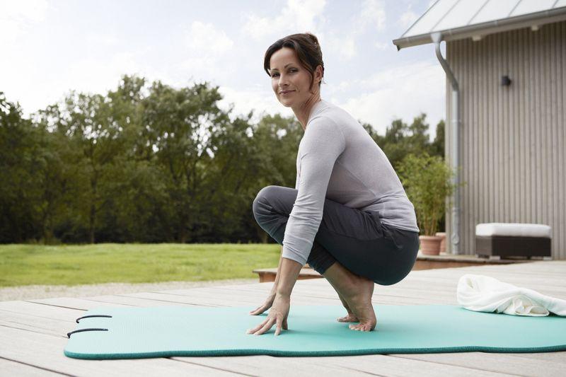 Fuß-Yoga - Zehen-Hocke