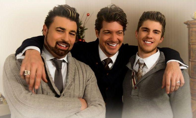 Weihnachten ist wunderschön: Joey Heindle, Sebastian Deyle und Anthony Bauer Jr.