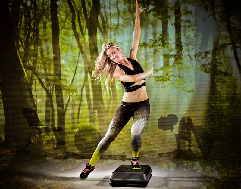 Zumba Step: Exklusiv bei Fitness First