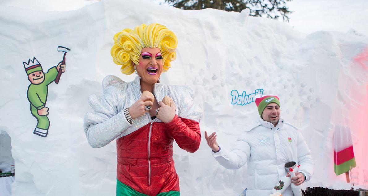 Langnese legt das Dolomiti neu auf