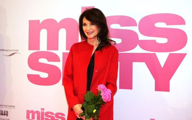 Iris Berben mit Kinobesuch in Hamburg