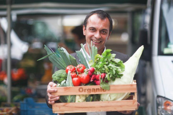 Früchte und Gemüsesorten