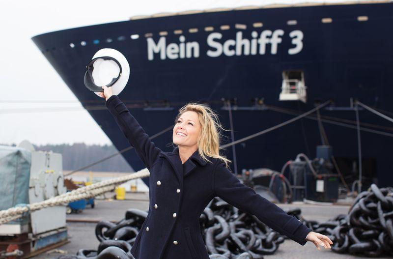Mein Schiff 3 Taufpatin Helene Fischer