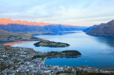 Queenstown in New Zealand