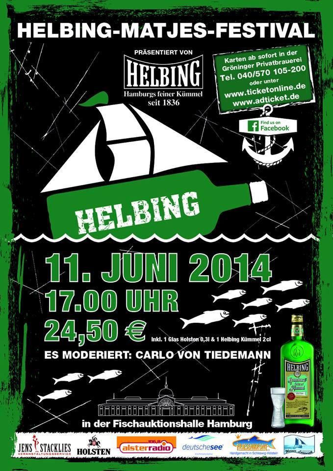 7. Helbing-Matjes-Festival in der Fischauktionshalle