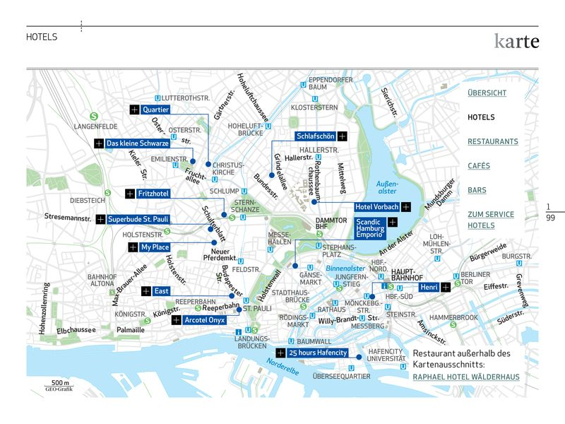 Geo Special Hamburg-App