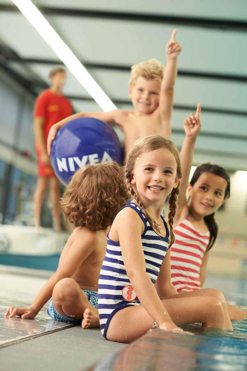 """DLRG/Nivea Gemeinschaftsprojekt: """"Seepferdchen für alle – Schwimmen lernen mit Nivea"""""""