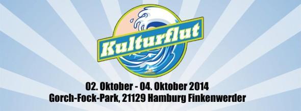 """Vom 2. bis 4. Oktober 2014 öffnet das """"Kulturflut""""-Festival erstmals seine Pforten"""