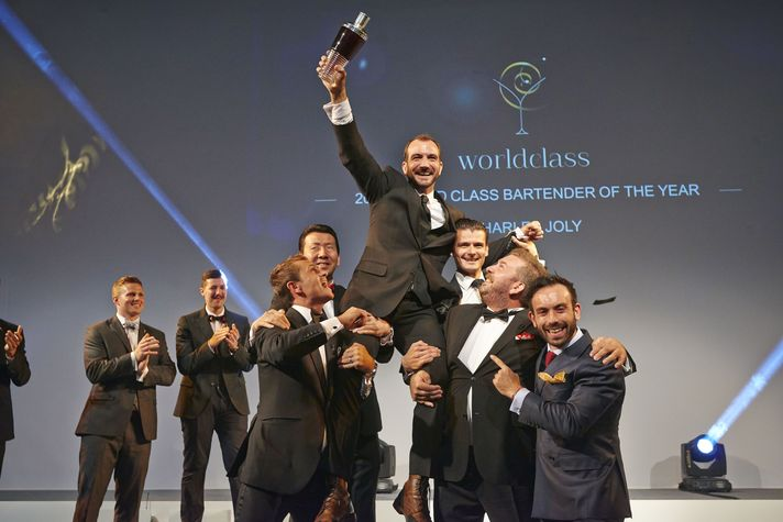 Der Weltmeister der Barkeeper 2014 steht fest: Charles Joly aus den USA gewinnt Diageo Reserve WORLD CLASS Global Finals in London