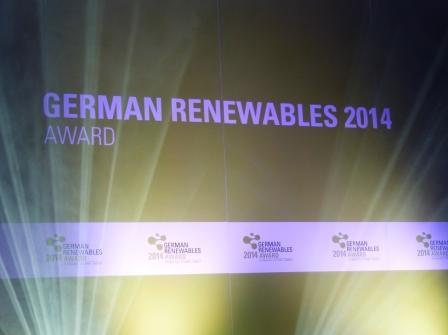 """Zum dritten Mal in Folge setzte Kontrapunkt die Verleihung der """"German Renewables Awards"""" um"""