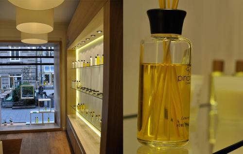 Ladenbauer Raumschiff realisiert den Pinatura Store