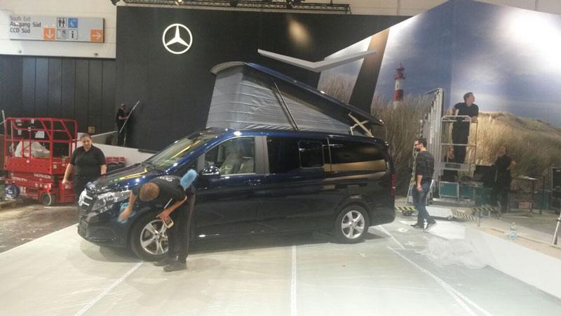 Olympioniken im Einsatz für Daimler