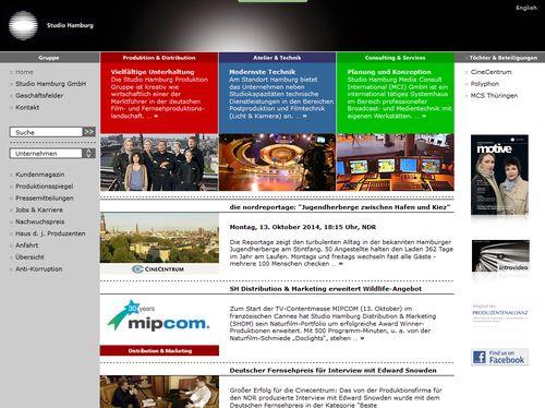 Studio HH auf der Mipcom Tv-Messe