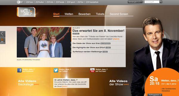 ZDF - Markus Lanz mit großem Staraufgebot