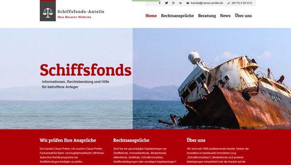 Schiffsfonds - ein heikles Thema für Anleger