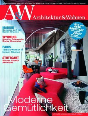 Titelcover A&W Architektur und Wohnen, Ausgabe 6/2014