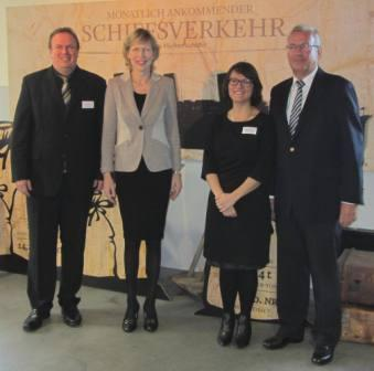 Volker Reimers, Dr. Dorothee Stapelfeldt, Rebekka Geitner, Wolfgang Wietbrok