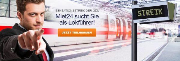 banner Bahnstreik GLD Terror