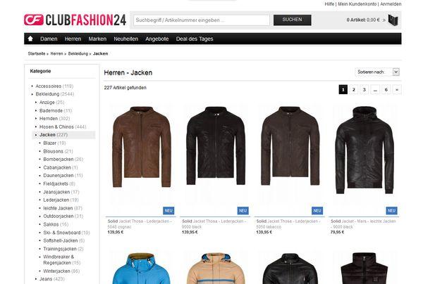 Warme Jacken für Männer