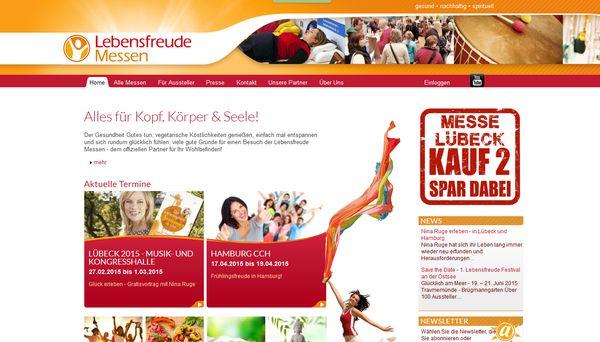 Die Lebensfreude Messe für Gesundheit, Yoga, Ernährung & Nachhaltigkeit