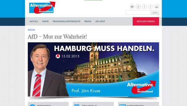 AfD - Einzug in die Hamburger Bürgerschaft