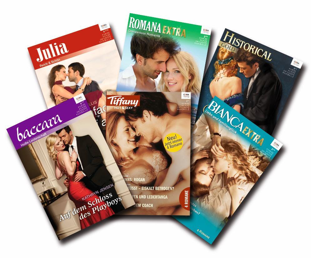 Der Cora Verlag bietet auch abseits des Shades-Hypes eine große Auswahl an Erotikliteratur