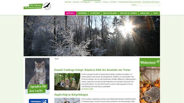 Die Deutsche Wildtierstiftung schlägt Alarm
