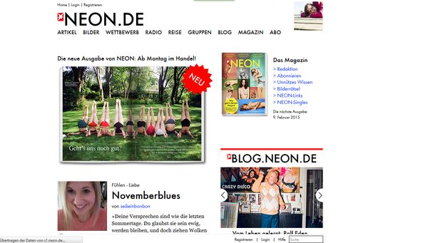 Neon führte das Interview mit Friedrich Liechtenstein