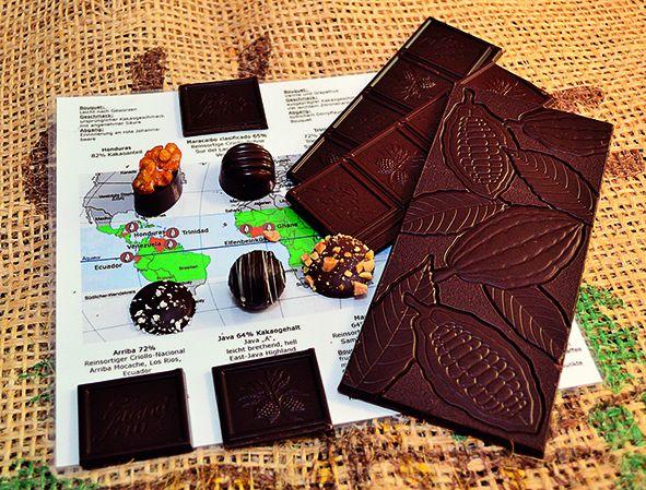 Wenn das nicht lockt: Chocoladenverkostung