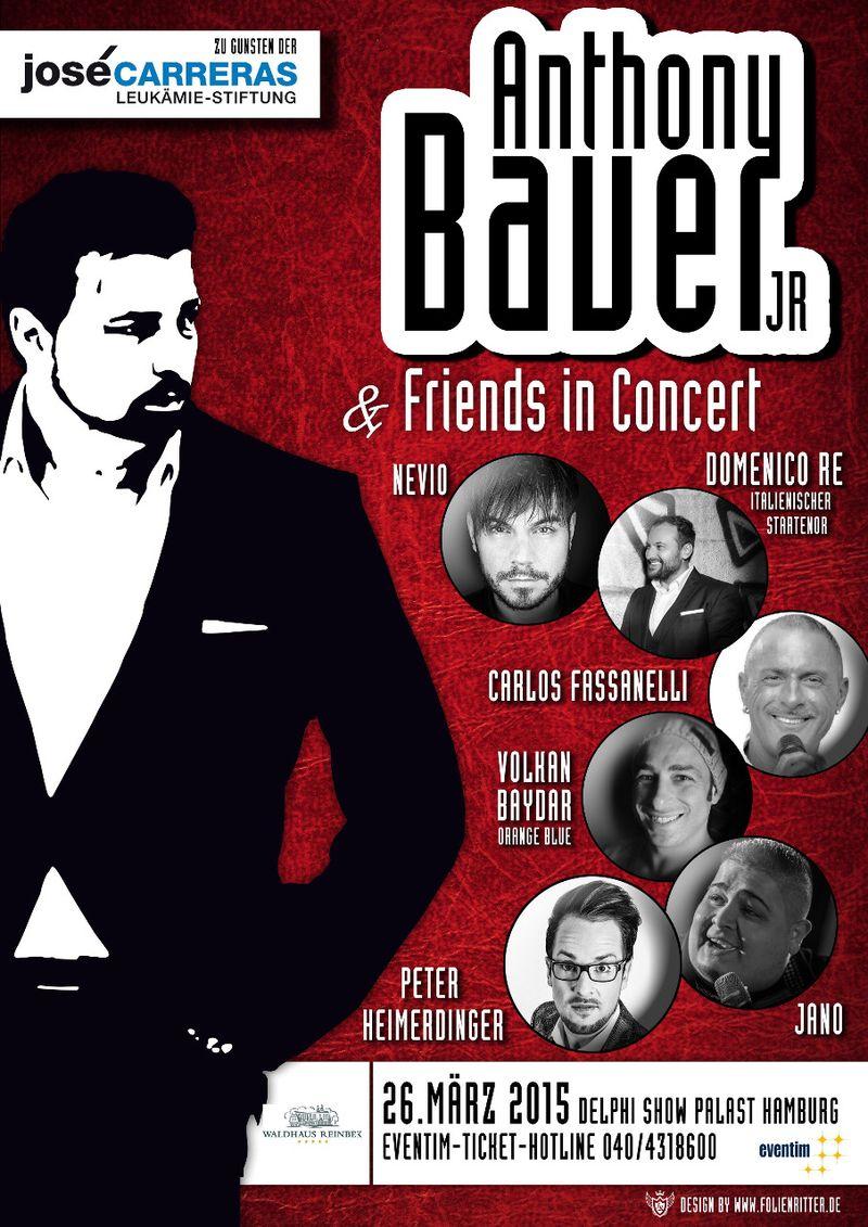 Anthony Bauer Jr.: Hamburger Musiker veranstaltet Konzert für die José Carreras Stiftung