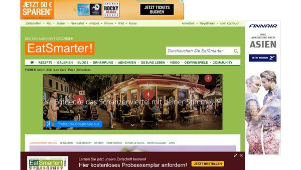 Das Eat Smarter Magazin aus Hamburg